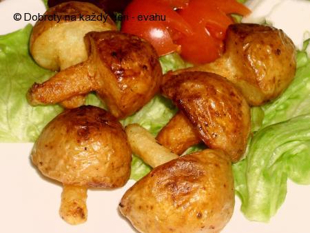 Houbové brambory smažené nebo pečené - příloha