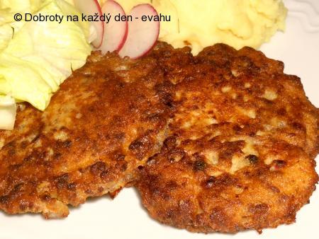 Omeletky s vařeným masem