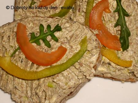 Pomazánka ze sardinek s chilli