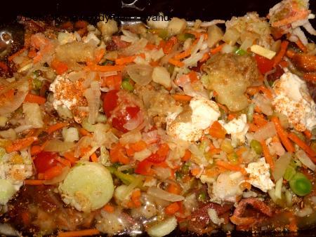 Masová směs s čínskou zeleninou