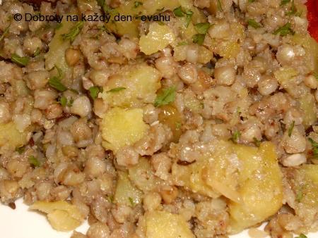 Pohanka s bramborem