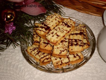 Tyčinky s marmeládou