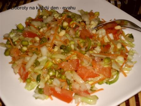 Salát z mungo fazolek