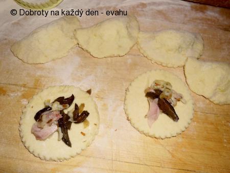 Smažené taštičky z bramborové kaše