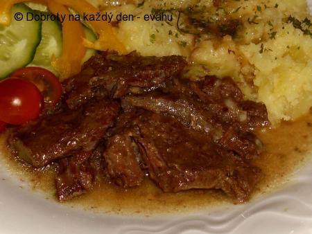 Hovězí maso s pórkem