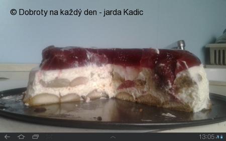 Nepečený dort