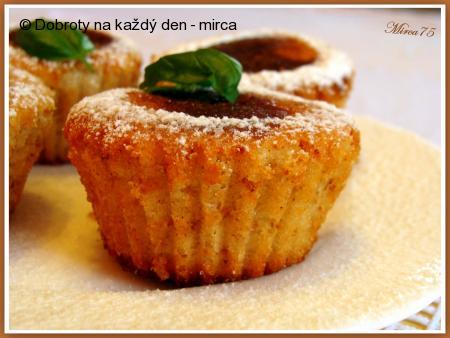 Voňavé jablkové muffiny s medem