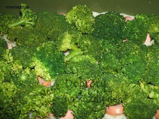 Zapékaná brokolice