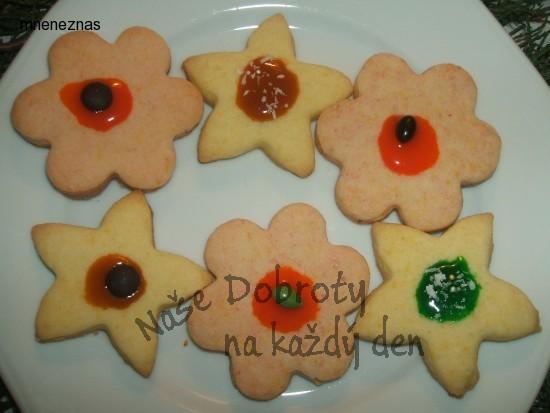 Vánoční cukroví s pudinkovým práškem