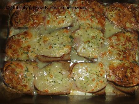 Zapečené tvarůžkové chleby