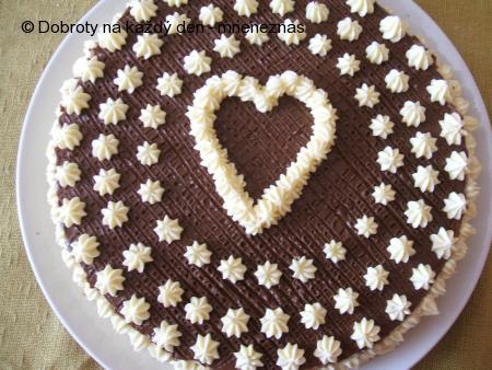 Ořechovo - kávový dort