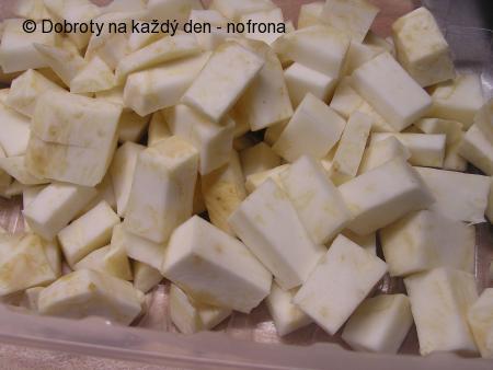 Vepřové plátky v celeru