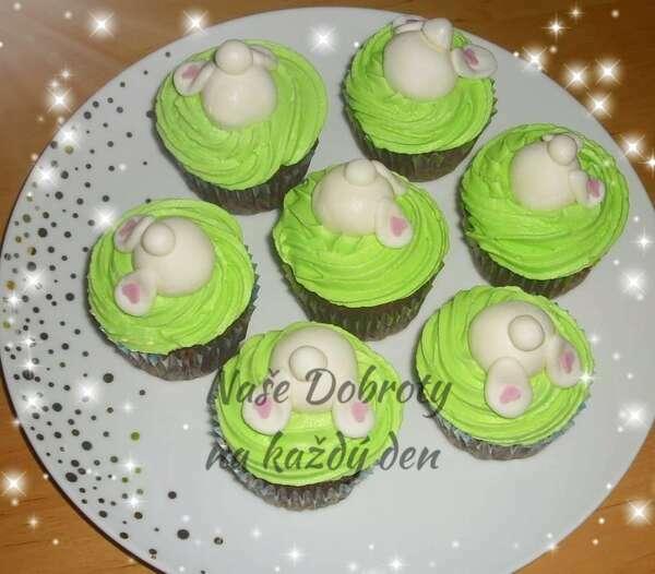 Zelené cupcaky