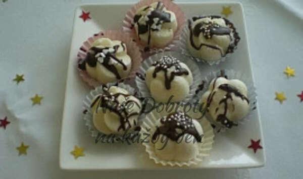 Kokosové bonbónky