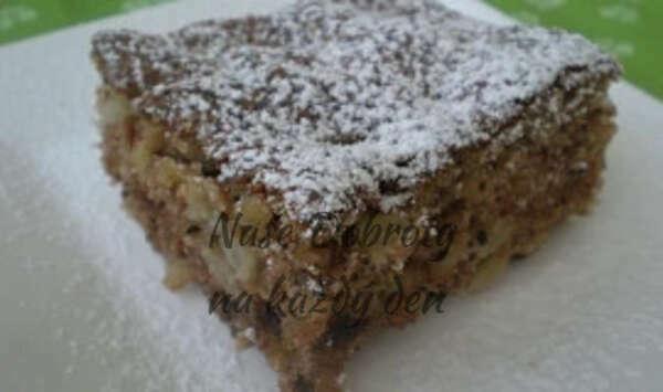 Ořechovo - jablečný koláč