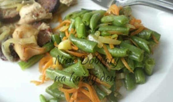 Fazolky s mrkví na česneku
