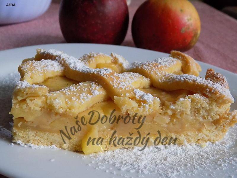 Jablečná buchta s karamelem