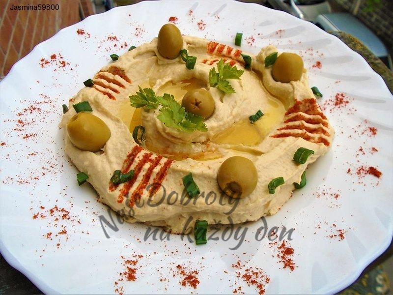 Hummus - pomazanka  z  cizrny