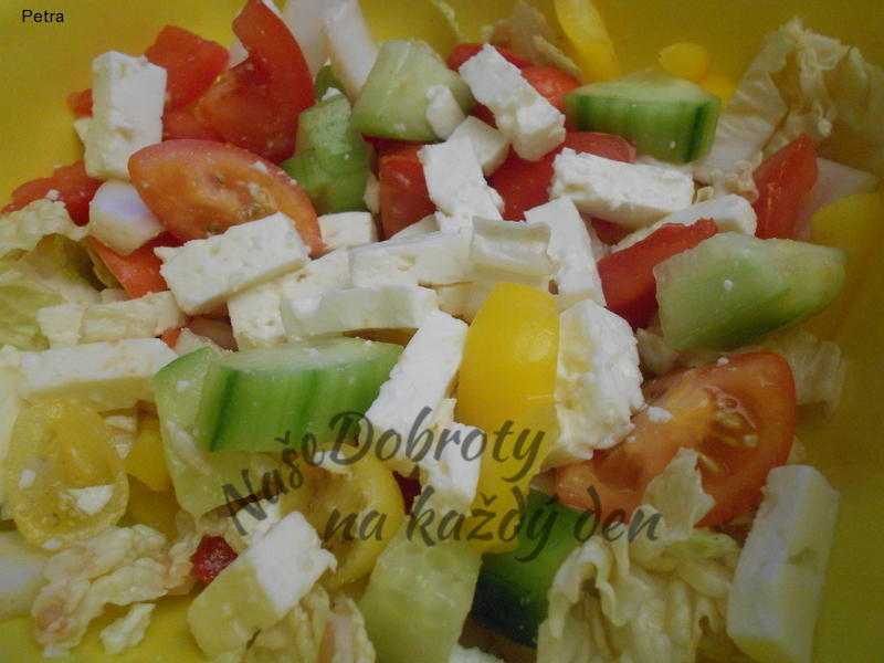 Salát z pekingského zelí