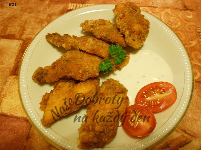 Pikantní kuřecí stripsy