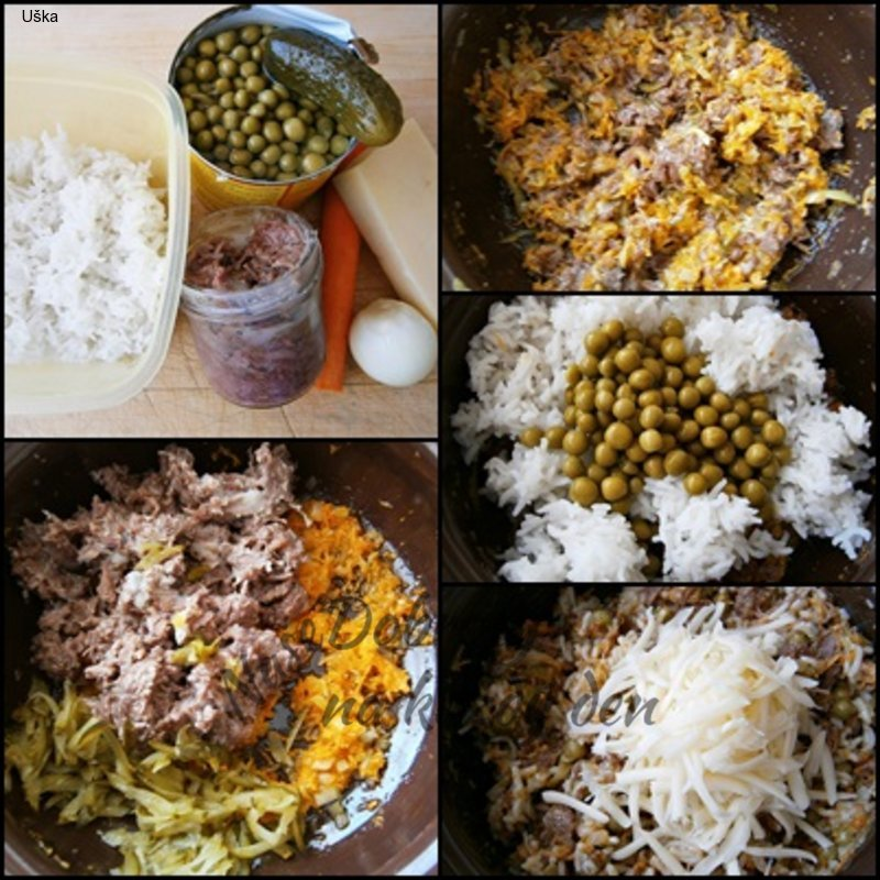 Rizoto ze zbylé rýže