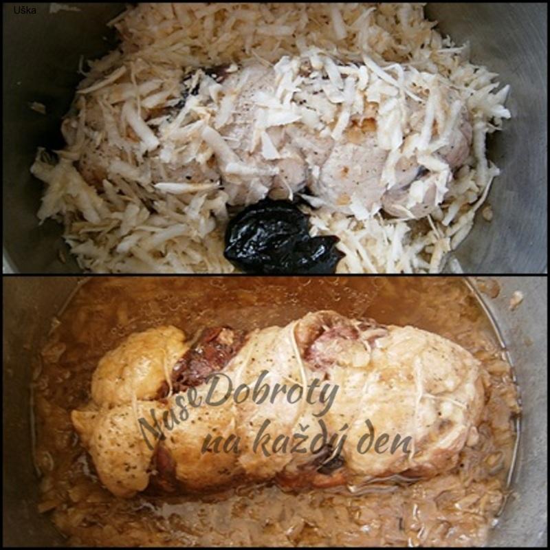 Šťavnatá Beskydská roláda z vepřového masa