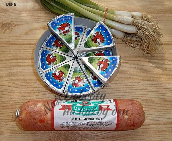 Sýrová pomazánka s tvarůžkovou příchutí