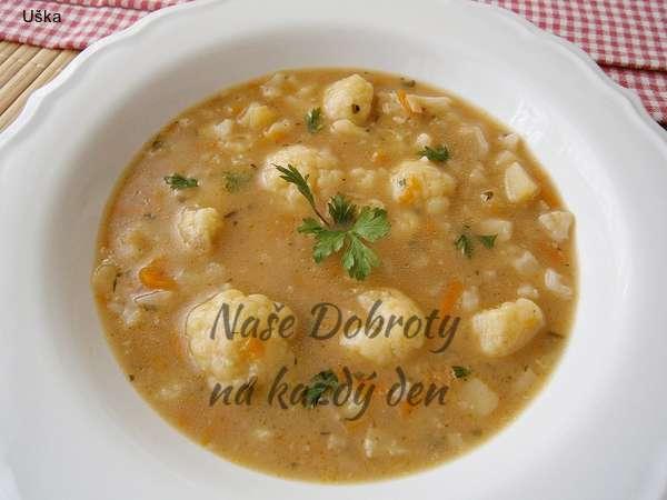 Cuketová zeleninová polévka