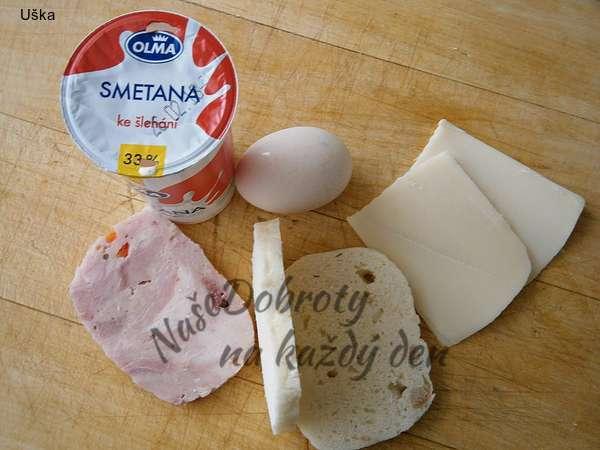 Knedlík ve vajíčku v netradiční úpravě