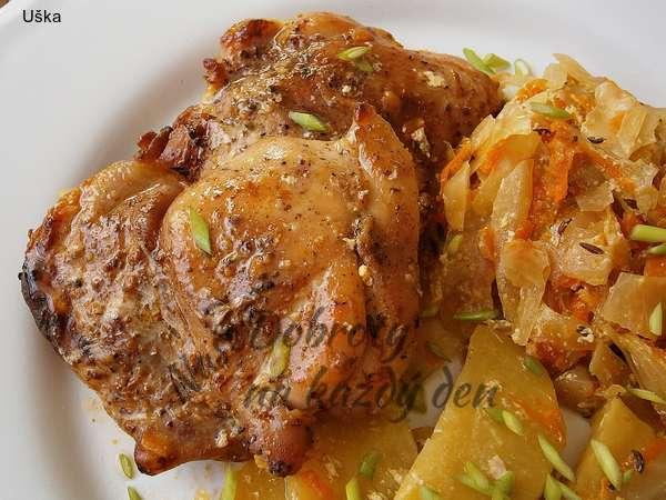 Kuřecí pekáček se smetanovou zeleninou
