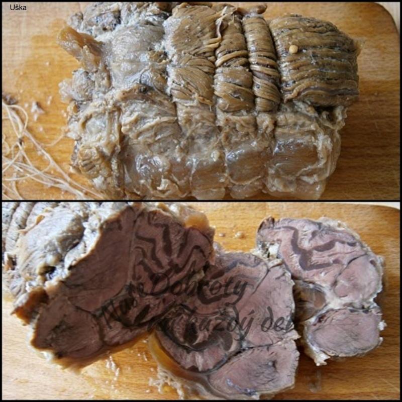 Hovězí kližka s hříbkovou sladkokyselou omáčkou z pomalého hrnce