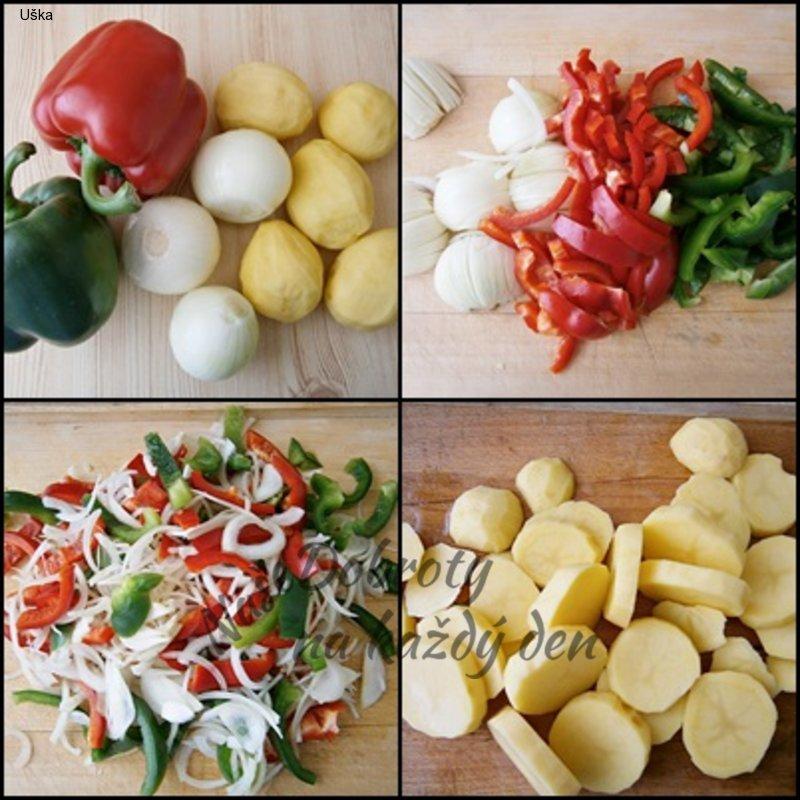 Hovězí na zelenině z pomalého hrnce