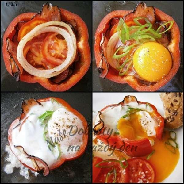 Hemenex se zeleninou v paprikovém kroužku