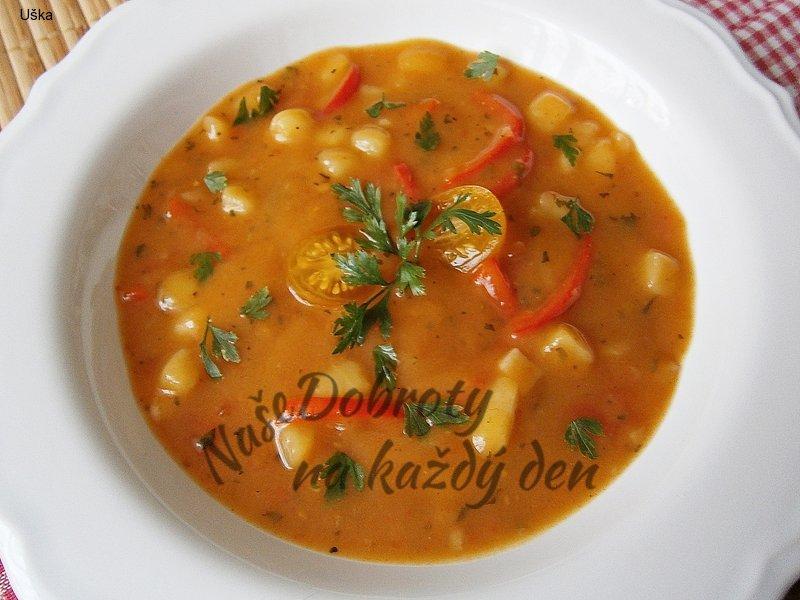 Zeleninová bramborová polévka