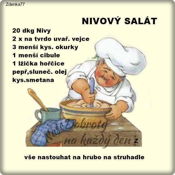 Nivový salát