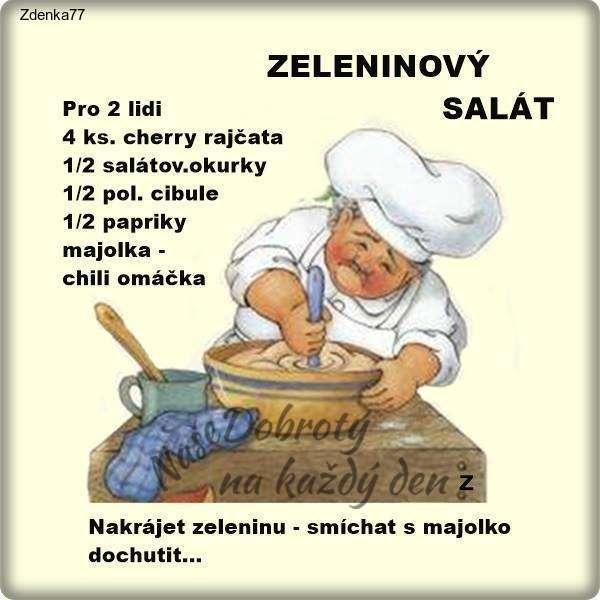 Zeleninový salát - pro 2 lidi