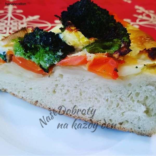 Slaný zeleninový koláč