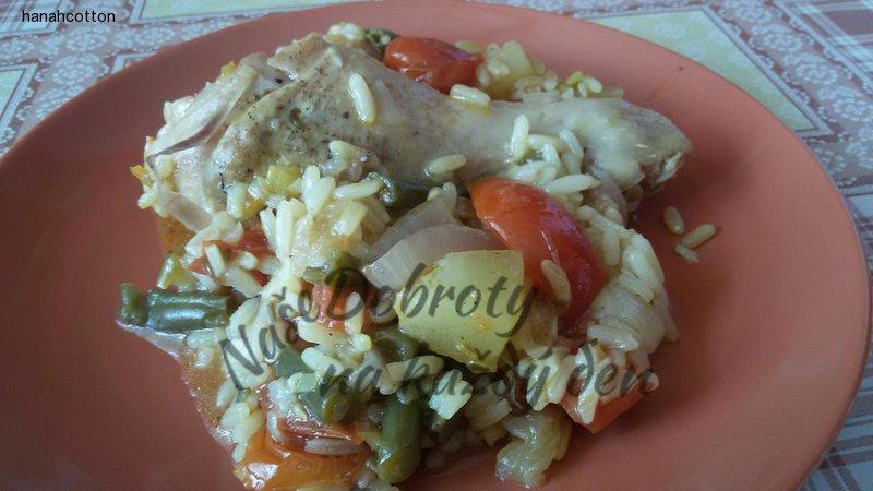 Kuřecí paella