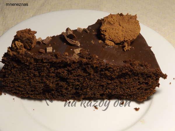 Čokoládový dort italský recept